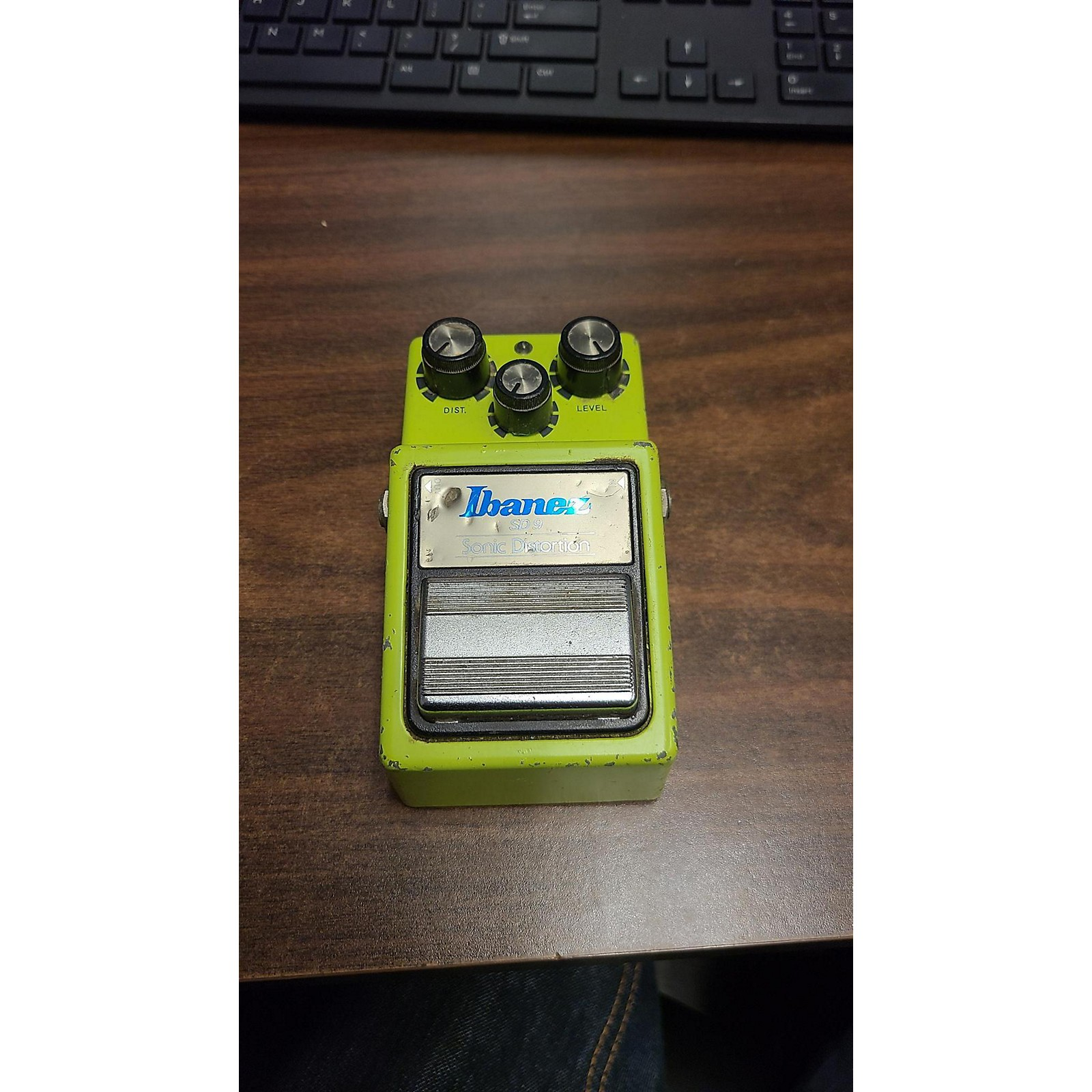 Ibanez 1980s SD 9 Sonic Distorion Pedal Effect Pedal