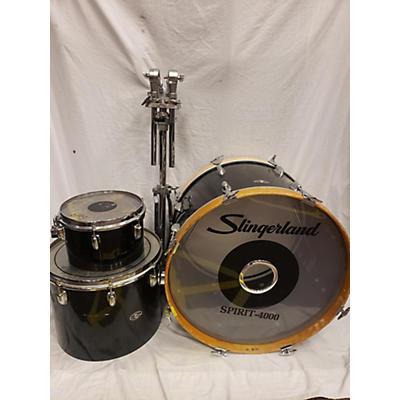 Slingerland 1980s SPIRIT 4000 Drum Kit