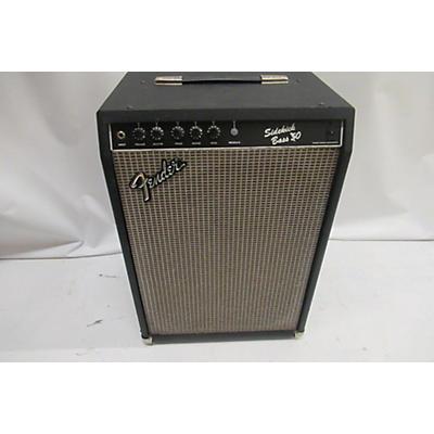 Fender 1980s Sidekick 50 Bass Power Amp