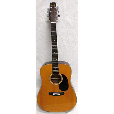 Vantage 1980s VW100 Acoustic Guitar
