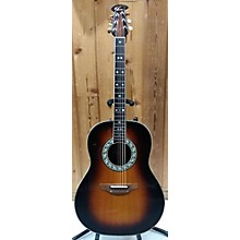 Ovation 1981 1617L Balladeer Acoustic Electric Guitar
