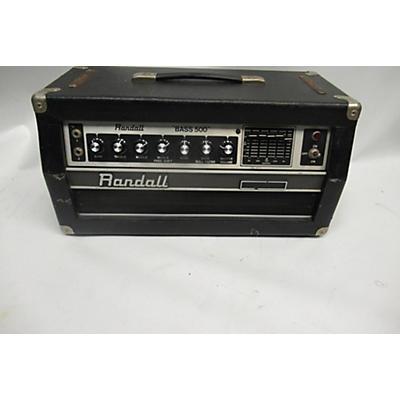 Randall 1981 BASS 500 Bass Amp Head