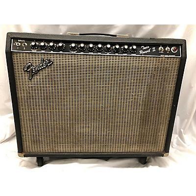 Fender 1982 Twin Reverb II 2x12 105w Tube Guitar Combo Amp
