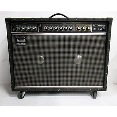 Roland 1990s JC120 Jazz Chorus 2x12 Guitar Combo Amp
