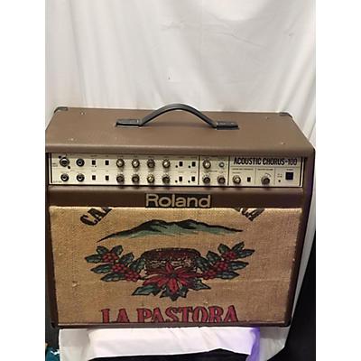 Roland 1997 AC100W Acoustic Guitar Combo Amp