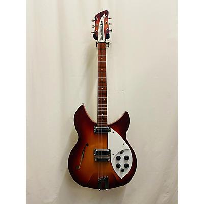 Rickenbacker 1997 Afg Rose Morris Reissue Hollow Body Electric Guitar