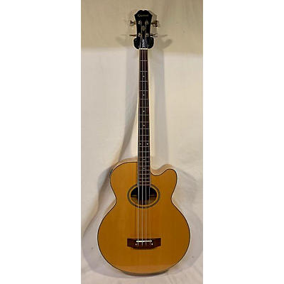 Epiphone 1999 El Capitan Acoustic Bass Guitar