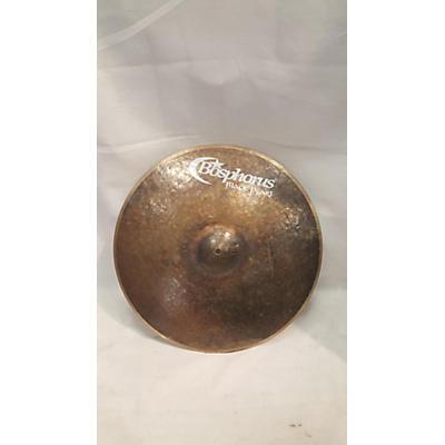 Bosphorus Cymbals 19in Black Pearl Cymbal