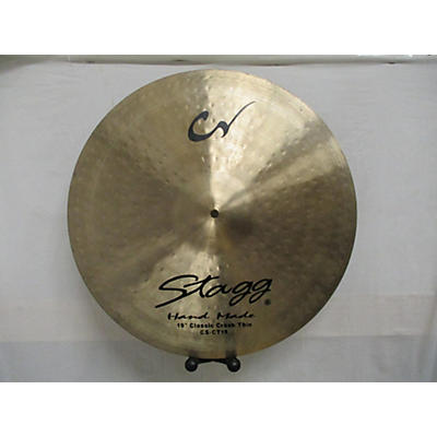 Stagg 19in Classic Crash Thin Cymbal