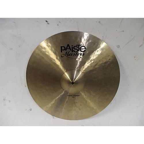 19in Masters Dark Crash Cymbal
