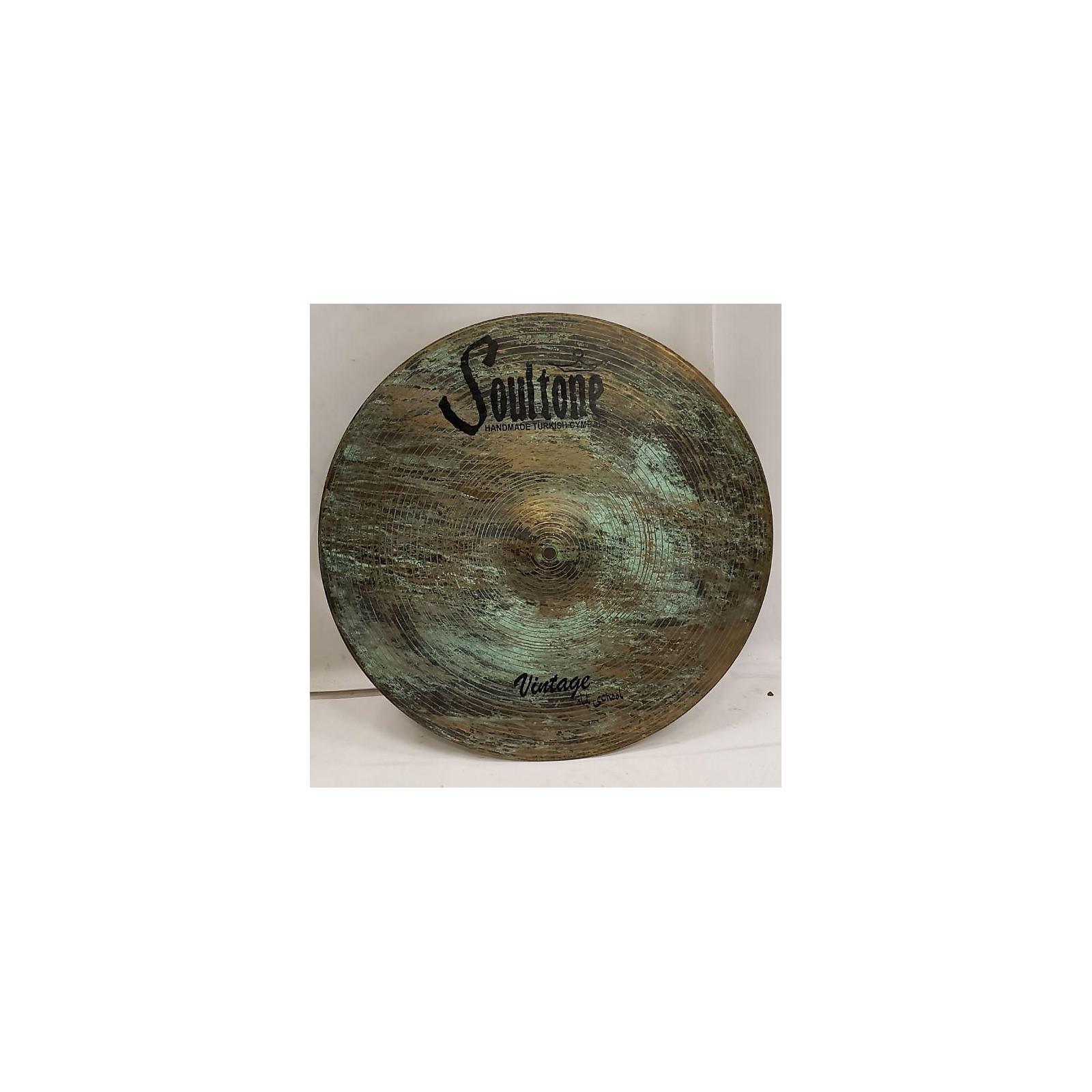 Soultone 19in Vintage Old School Cymbal