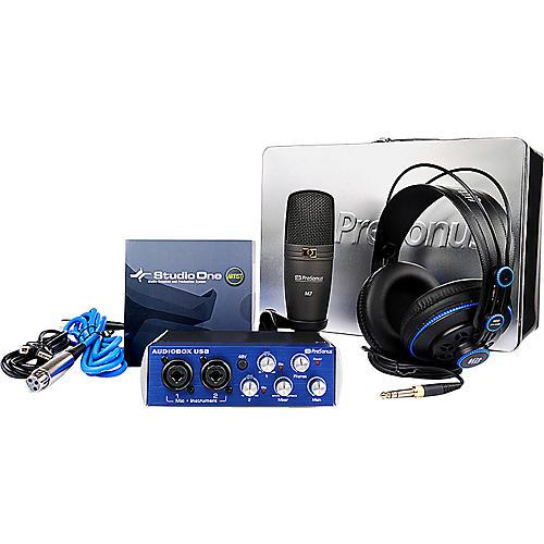 PreSonus 1Box Audiobox Collector's Edition Recording Bundle