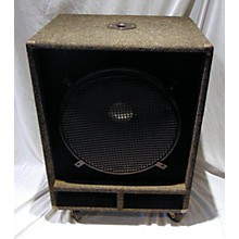 Miscellaneous 1X18 Unpowered Subwoofer
