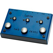 Lehle 1at3 SGoS Programmable True Bypass Switcher - I Instrument to 3 Amps/2 Amp, 1 Effects Loop