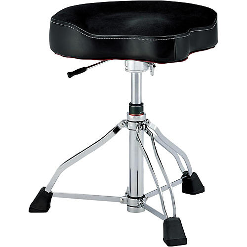 TAMA 1st Chair Drum Throne Glide Rider with Cloth Top and HYDRAULIX