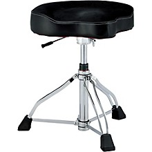 Open Box TAMA 1st Chair Drum Throne Glide Rider with Cloth Top and HYDRAULIX
