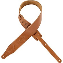 "Levy's 2 1/2"" Embossed Christian Cross Garment Leather Strap"