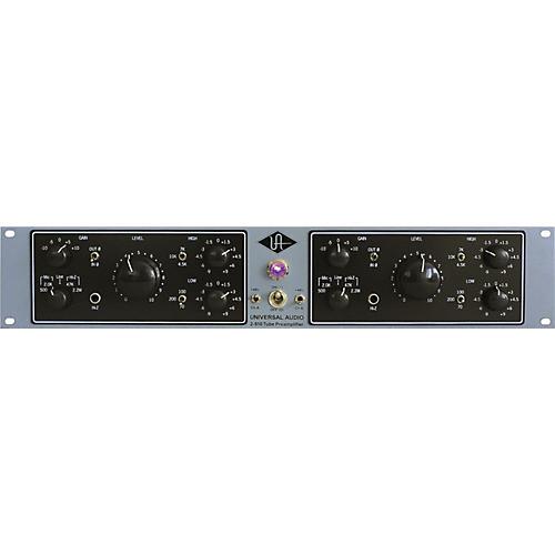 2-610 Silverface Dual Channel Mic Pre