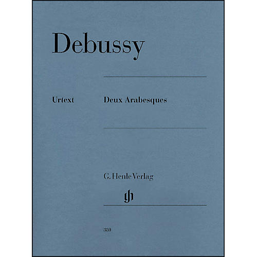 G. Henle Verlag 2 Arabesques By Debussy