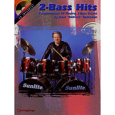 Centerstream Publishing 2-Bass Hits (Fundamentals of Playing 2-Bass Drums) Percussion Series Softcover with CD