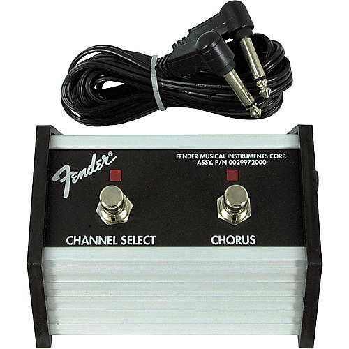 Fender 2-Button Channel/Chorus Footswitch Condition 1 - Mint