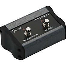 Open Box Fender 2-Button Footswitch for Acoustasonic