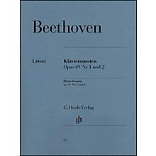 G. Henle Verlag 2 Easy Piano Sonatas: No. 19 in G Minor Op. 49, No. 1 and No. 20 in G Major Op. 49, No. 2 By Beethoven