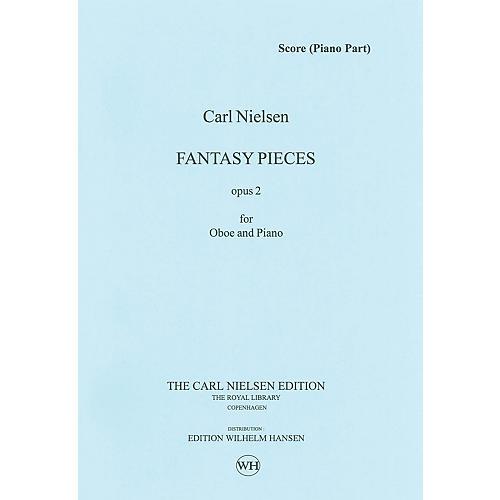 Wilhelm Hansen 2 Fantasy Pieces Op 2 (Oboe and Piano) Music Sales America Series