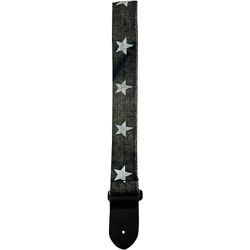 Perri's 2 In. Cotton Guitar Strap with Leather Ends