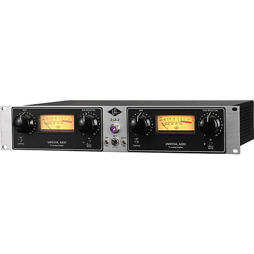 Universal Audio 2-LA-2 Twin T4 Leveling Amp