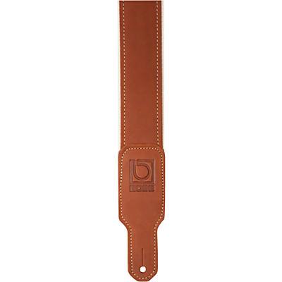 "Boss 2"" Leather/Nylon Hybrid Guitar Strap"