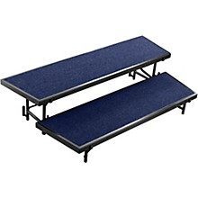 National Public Seating 2 Level Tapered Standing Choral Riser