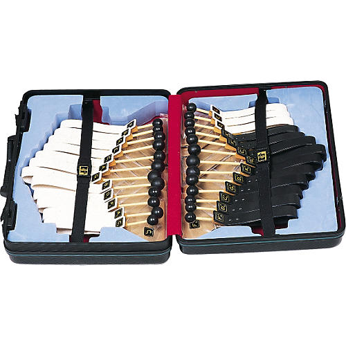 Rhythm Band 2-Octave Chromatic Belleplate Set with Case