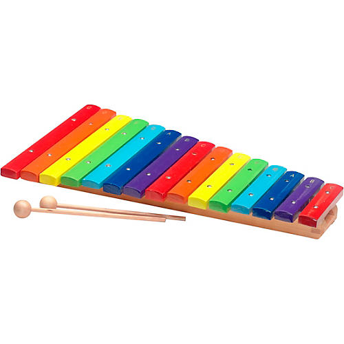 Stagg 2 Octave Rainbow Xylophone, 15Keys, C-C Condition 1 - Mint