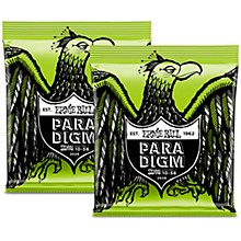 Ernie Ball 2 Pack- Paradigm Regular Slinky 7 Electric Guitar Strings Bundle