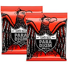 Ernie Ball 2 Pack- Paradigm Skinny Top Heavy Bottom 7 Electric Guitar Strings Bundle