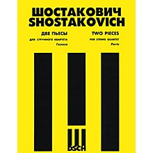 DSCH 2 Pieces for String Quartet (Set of Parts) DSCH Series Softcover Composed by Dmitri Shostakovich