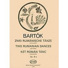 Editio Musica Budapest 2 Rumanian Dances, Op. 8a EMB Series Composed by Béla Bartók