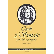 Editio Musica Budapest 2 Sonatas, Op.5, Nos. 7-8 (Viola and Piano) EMB Series Composed by Arcangelo Corelli