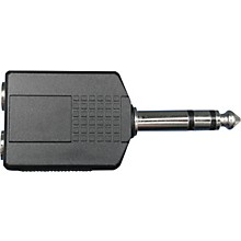 """Livewire 2 Stereo 1/4""""(F)-1/4""""(M) Stereo Adapter"""