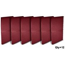 "Open BoxAuralex 2"" Studiofoam Pyramid 2'x4'x2"" panels (12 pack)"