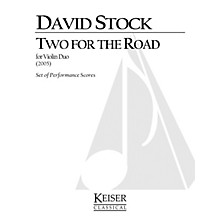 Lauren Keiser Music Publishing 2 for the Road LKM Music Series Composed by David Stock