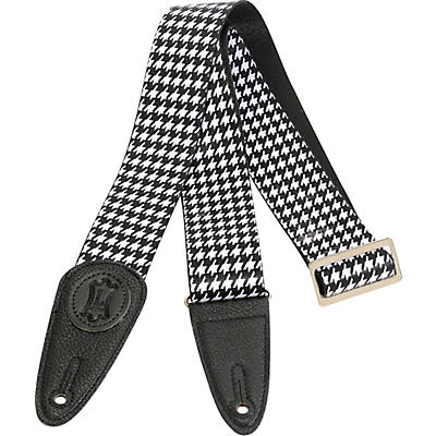 Levy's 2 in. Sublimation Houndstooth Guitar Strap