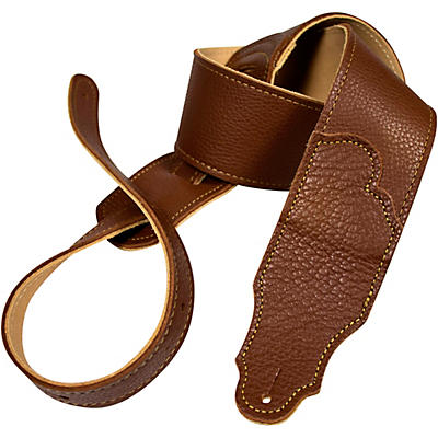"Franklin Strap 2.5"" Original Natural Glove Leather Guitar Strap"