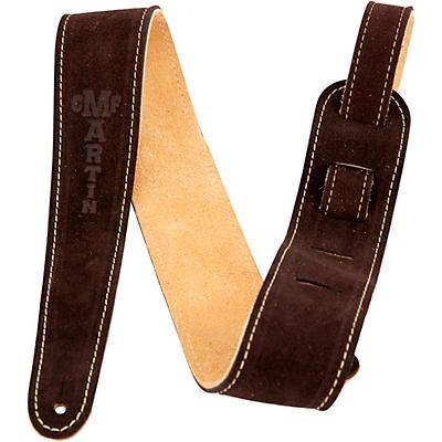 "Martin 2.5"" Suede Guitar Strap"