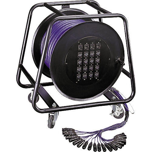 Jade Audio 20-Channel/4-Return Stage Snake with Rolling Reel