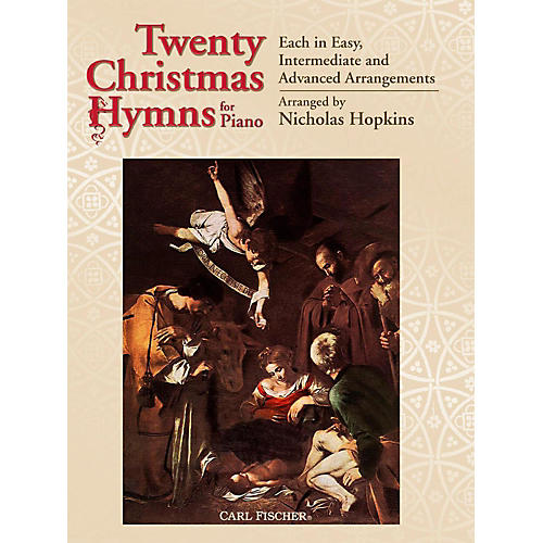 Carl Fischer 20 Christmas Hymns for Piano
