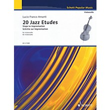 Schott 20 Jazz Etudes: Steps to Improvisation (for Cello Solo) String Series Softcover