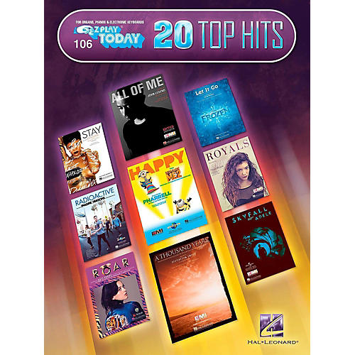 Hal Leonard 20 Top Hits E-Z Play Today #106