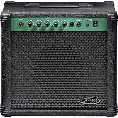 """Stagg 20 Watt 8"""" Bass Amplifier"""